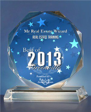 Duncan Wierman Award Best Real Estate Training 2013 - 