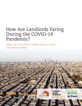 Study: How Are Landlords Faring During the COVID-19 Pandemic?